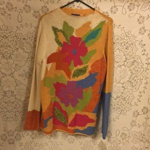 JH Collectibles Sweaters - Island Getaway Sweater by JH Collectibles.NWTS SzL